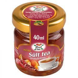 Pomegranate Roasted Tea with Honey - 40ml