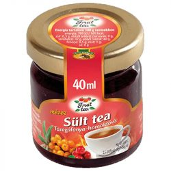Cranberry and hawthorn roasted tea with honey - 40ml