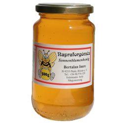 Sunflower honey - 500g (Bertalan Apiary)