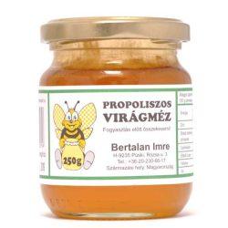 Oeganic Honey with Propolis 250g (Zselici)