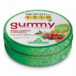 Sucking gummy bears with propolis, rosehip-ginger - 40g
