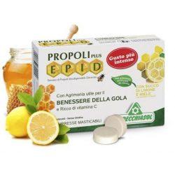 Propolis pastilles, HONEY-LEMON, 20pcs. - 24g