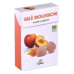 Bio mézes-barackos zselés cukorka 30g