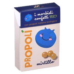 Propoliszos kék áfonyás cukorka (Propoli), bio, 30g