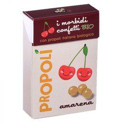 Propoliszos-cseresznyés cukorka (Propoli), bio, 30g