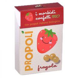 Propolis strawberry candy (Propoli), bio - 30g