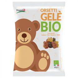 Propolis honey gummy bears, organic - 80g