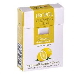 Propolis chewing gum (Propolgum), sugar-free, BIO, lemon - 25g