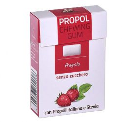 Propoliszos Rágógumi (Propolgum), cukormentes, bio, Epres - 25g
