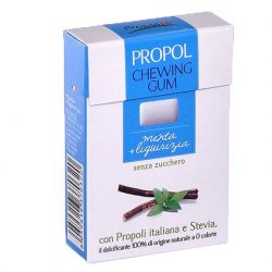 Propoliszos Rágógumi (Propolgum), cukormentes, bio, mentolos - 25g