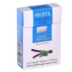 Propolis chewing gum (Propolgum), sugar-free, BIO, with menthol - 25g