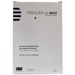 Manuka Honey IG-MAX impregnated gauze - 1pcs - 10cm x 12.5cm